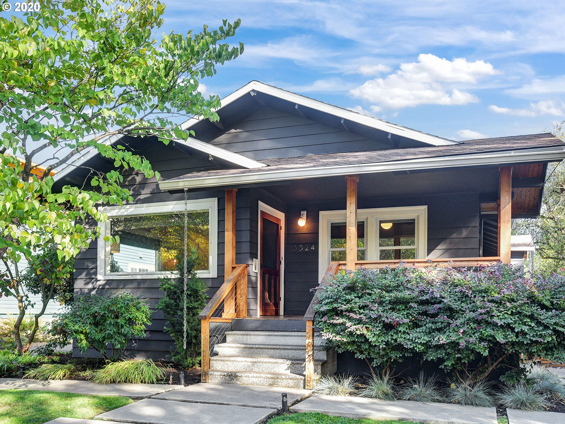 *Open Sunday,10/18 1pm-3pm. Masks required* Beautiful 1923 vintage bungalow on gorgeous 17th Ave. blocks to parks, restaurants, boutiques,& shopping.Feats an inviting front porch, refinished hardwood flooring, formal living & dining room w/built-ins, Large updated kitchen w/vaulted breakfast nook, new luxury vinyl plank floors,& blt-in table and bench. Great floor plan with 3 bedrooms on the main & bonus guest room and full bath below. [Home Energy Score = 4. HES Report at https://rpt.greenbuildingregistry.com/hes/OR10185613]