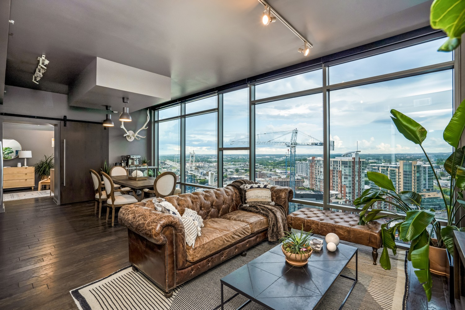 Luxurious high-rise living. 2BD|2BA. Panoramic GULCH views. Floor to ceiling glass. 12|12 features 2 guest suites, salt-water pool, hot tub, green roof, trainer driven fitness center, indoor dog run and 2 owner lounges.