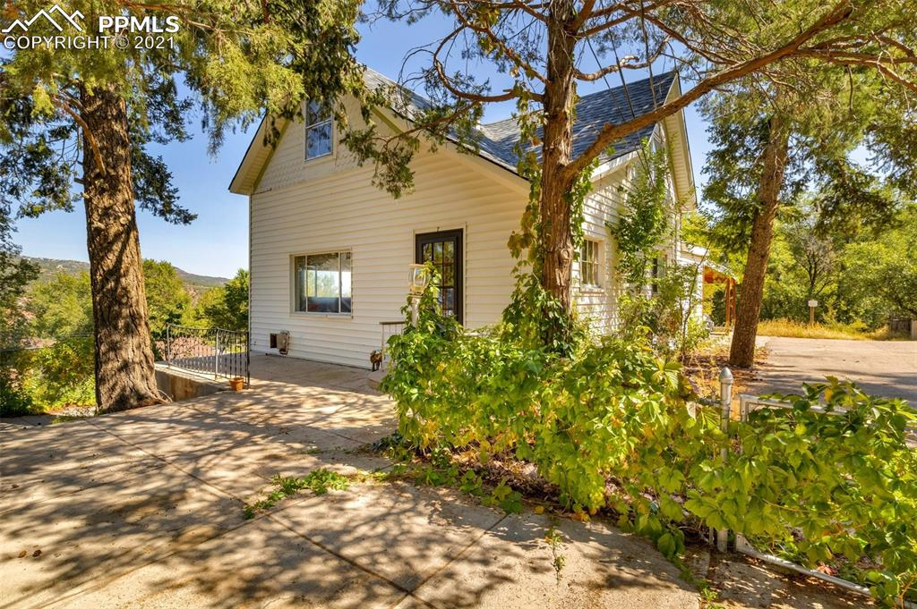 The views from this home are fantastic.  Large lot in Manitou Springs with plenty of parking.  The large fenced front yard is perfect your outdoor entertaining.  The home has been in the same family for many years and is ready for a new person to love it.