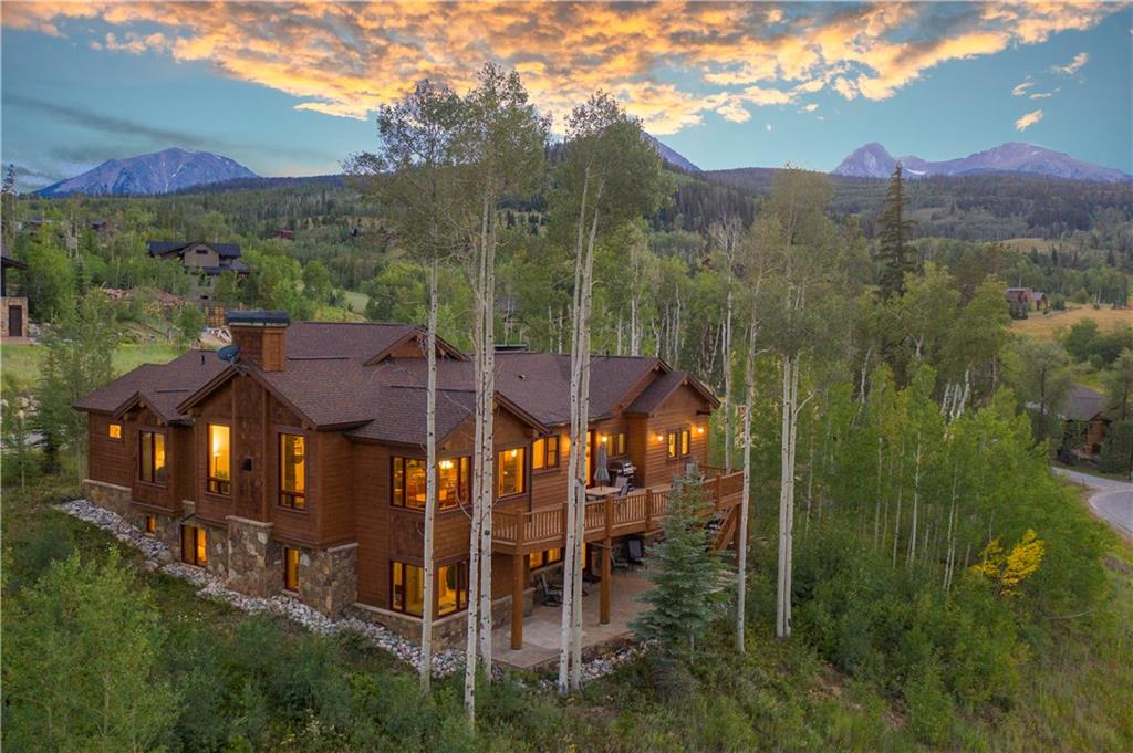 Set in an Aspen Grove in coveted Three Peaks.