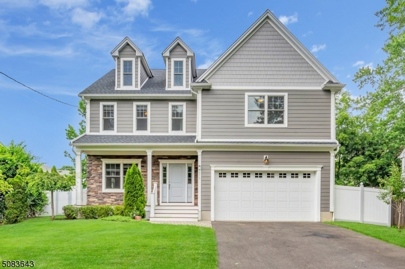 Newly constructed in 2016, this spectacular colonial is nestled in one of the most congenial neighborhoods in Scotch Plains. The local train station, schools, parks, dining, and houses of worship are minutes away from your front door. The professionally landscaped yard features multiple fruit and figs trees, with a vegetable and herb garden in the backyard. Beautiful wainscot molding and walnut stained hardwood floors will welcome every visitor as they traverse through the open living room and dining room space. An open concept kitchen and family room provide an ideal setting for entertaining. In addition to the generously sized 4 bedrooms there is a 3rd floor recreation room featuring a pool table that has been left for the new owner.
