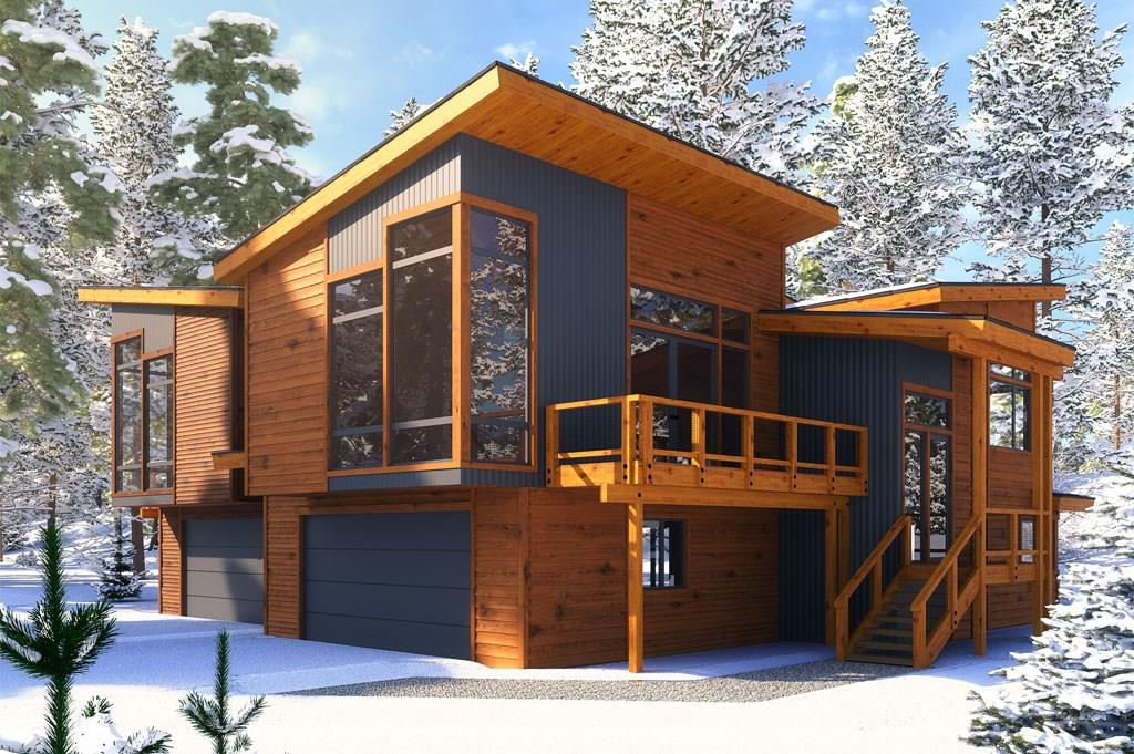 A rendering of the Basin Twin Cabin.