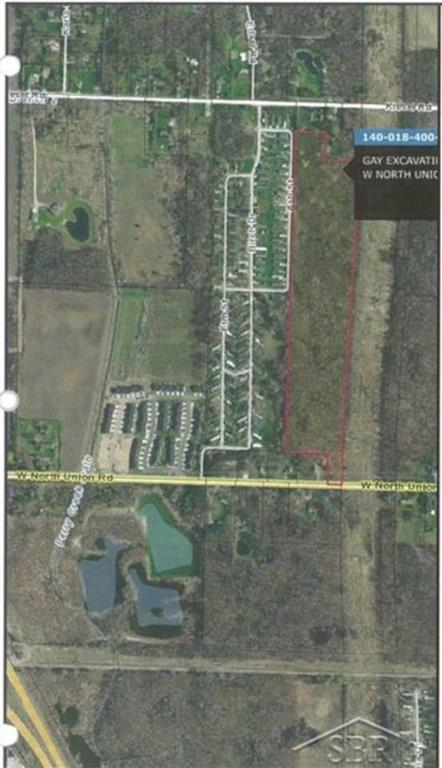 Great piece of wooded acreage with one along power lines.  High ground building site.
