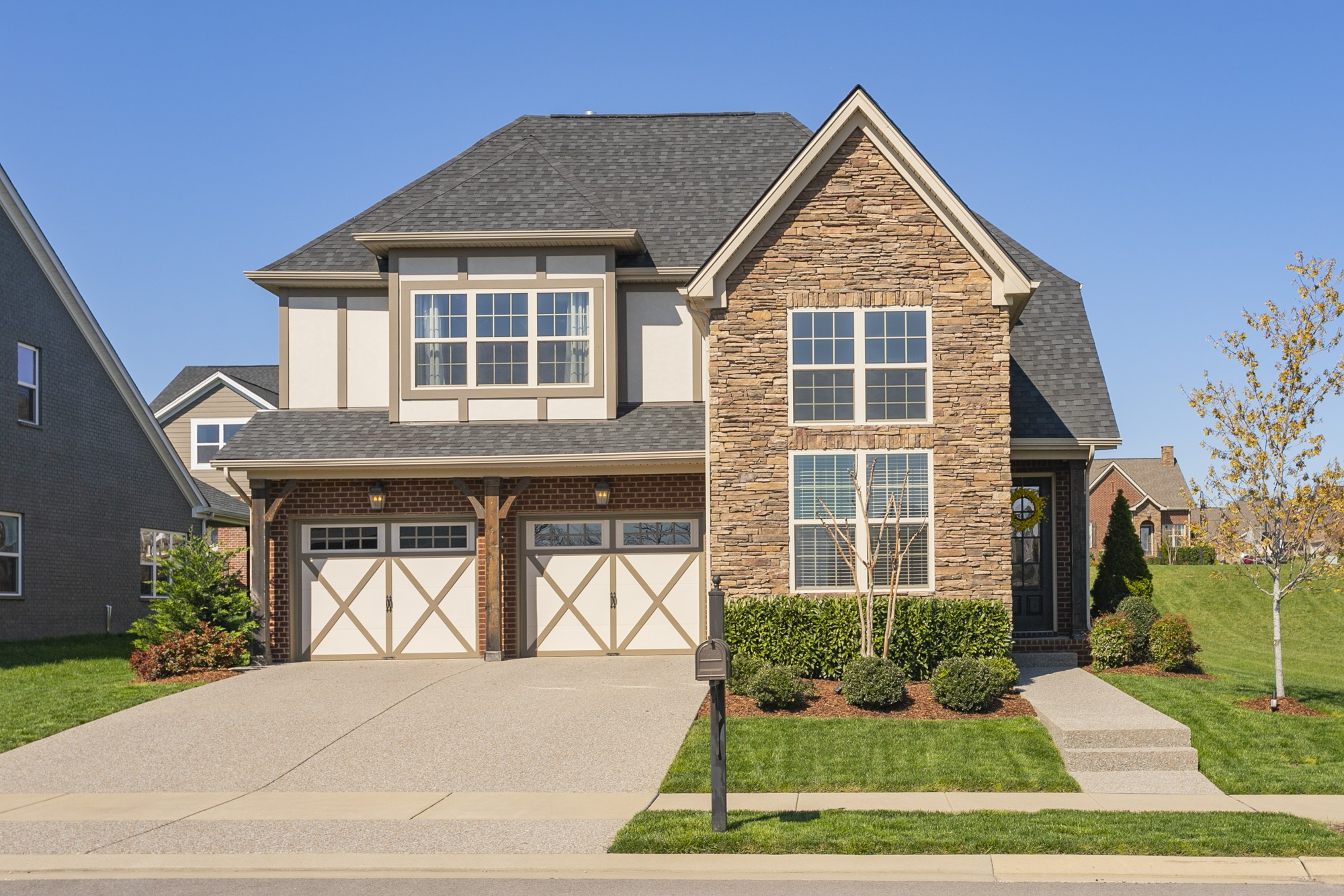 *Multiple Offers--Highest/ Best due Sunday 4/11@ 6pm* Open House Sunday 1-3! RARE move-in ready opportunity in the highly coveted Millstone Subdivision!  This practically new Lincoln Tudor is loaded w/ contemporary features and builder upgrades. This home features and open concept kitchen/ dining/ living room space w/ tons of natural light. Over-sized bonus room, covered outdoor living space, luxury owners retreat with huge walk-in closet space, and tons of Storage. 2-car garage. Community Pool!