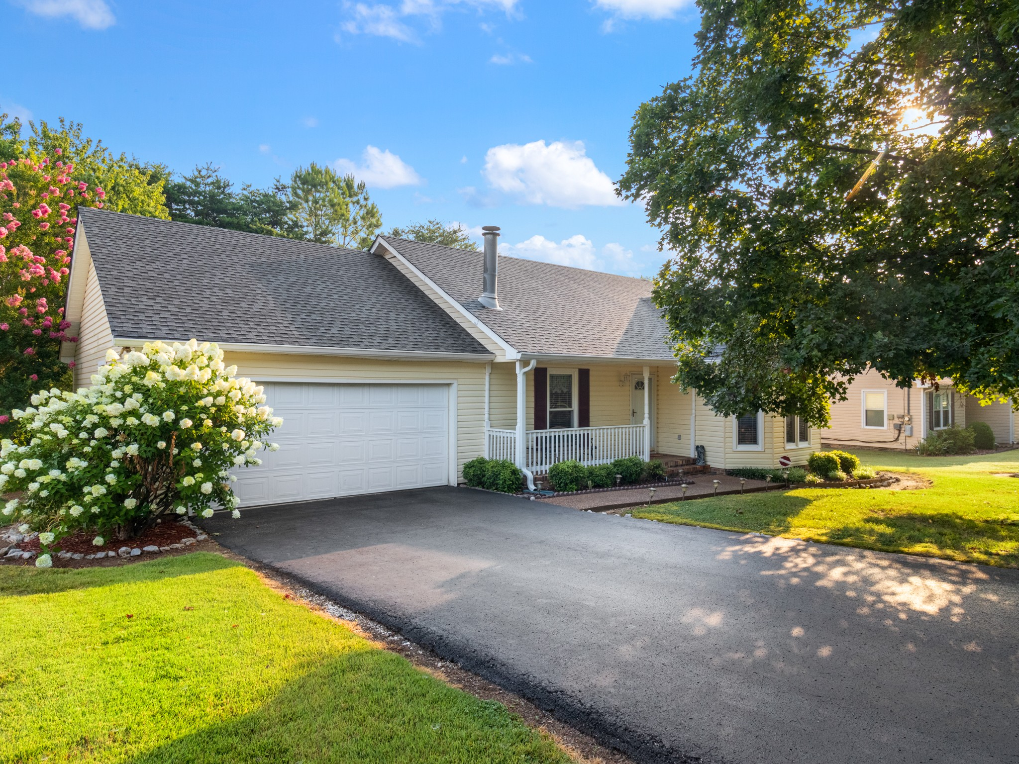 Mature landscaping, well maintained property, with pleasant decor inside, 11x11 composite deck, extra storage space in garage.
