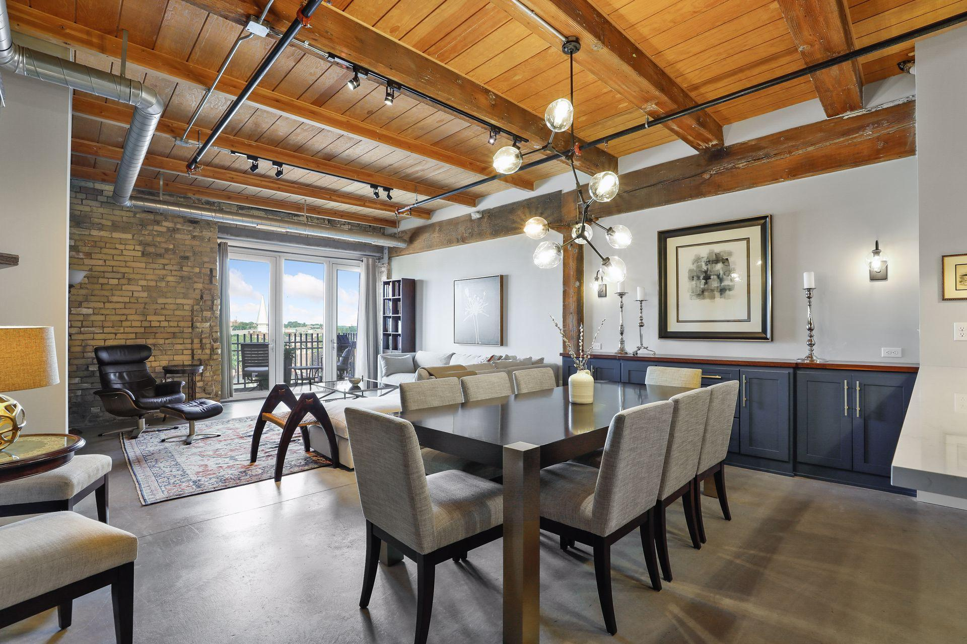 WOW !! Fabulous open floor plan with tons of architectural interest !