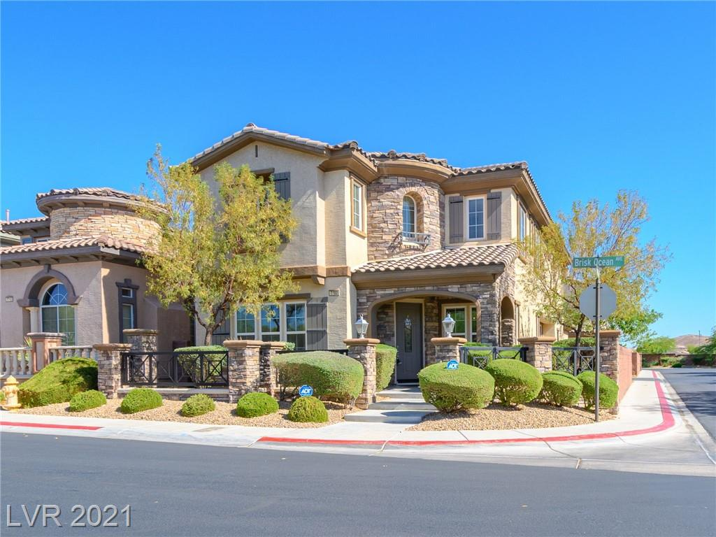 """AMAZING 3 Bed, 3 Bath, 3 Car Garage Home in the Highly Desirable Mountain's Edge Gated Neighborhood """"Mirasol""""  Built by Top Luxury Home Builder """"Toll Brothers"""". Kitchen Features Granite Countertops, GE Stainless Steel Appliances, Wine Rack, Double Oven, and Large Walk-In Pantry. Tile in the Kitchen & Baths with Plush Carpet Flooring Throughout, Ceiling Fans in every room, Fire Sprinkler System, Security System, Custom Drapes, Surround Sound System in the Huge Loft with Blackout Blinds. Every Bedroom has a walk-in closet. Large Master with Separate Sitting room and Fireplace, Separate Shower & Soaking Jacuzzi Tub. Sparkling Pool & Spa across the street. 3 Car Garage with Epoxy Flooring & Storage. All Appliances Included! This Amazing Community has a Pool, Spa, BBQ, Clubhouse and Playground & is directly across the street. Home is located near Great Schools, Shopping, Dining, and Mountain's Edge Master Plan Parks with Hiking, Walking and Biking Trails. Move-In Ready condition!"""