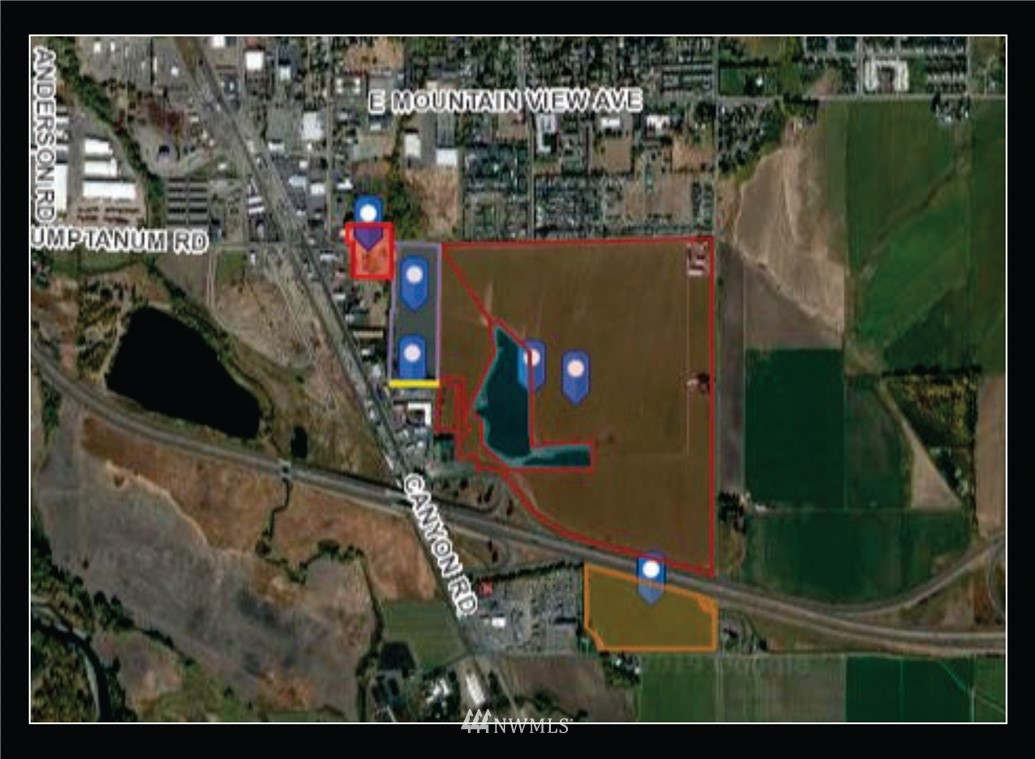 GREAT OPPORTUNITY! Over 211 acres in the desirable south interchange area. There are 5 parcels North of I-90 and 1 on the South Side. Zoning is currently Suburban-Residential with the North side being in the regional retail zoning overlay. All utilities are either on site or have been planned for. See supplements for more details!