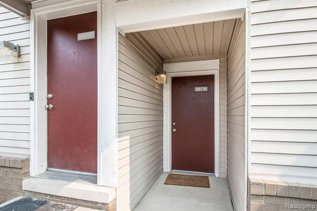 Come check out this move-in-ready first-floor condo in West Carnegie Park.  New carpet and new paint throughout the unit. The spacious living room has a glass door wall leading to a large patio located in the back of the unit with added privacy.   An in-unit laundry room with a washer and dryer.  One assigned carport right outside the unit.  The association fee includes water.  The complex offers a clubhouse with a fitness center, indoor pool, spa, and sauna. Enjoy the walking/jogging trails.   Easy access to Highways, Shopping areas, Restaurants, and Groceries.  Only minutes to I-696 and M-10. Seller is offering a Home Warranty to Buyer at Closing if Accepted at the time of Contract.