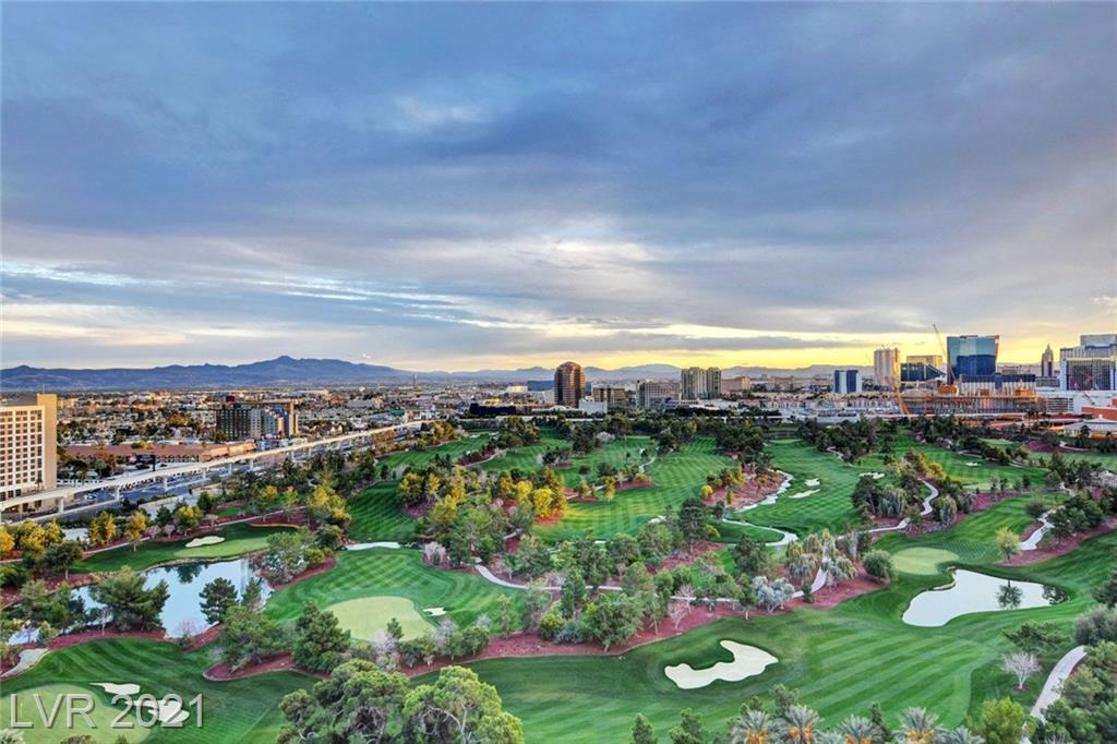 BEST VIEWS IN VEGAS!!  ABSOLUTELY PHENOMENAL STRIP VIEWS + OVERLOOKING WYNN GOLF COURSE LOCATED IN METROPOLIS!! HIGH 17TH FLOOR WITH AWESOME OPEN LAYOUT. VERY DRAMATIC WITH HIGH CEILINGS AND PRIVATE TERRACES. HIGH END FINISHES FEATURING TRAVERTINE TILE FLOORING, EUROPEAN CABINETRY, CUSTOM CLOSET, GRANITE, AND FLOOR TO CEILING WINDOWS!!! UNBELIEVABLE VALUE!!  SELLER WILL CONSIDER OWNER FINANCING.