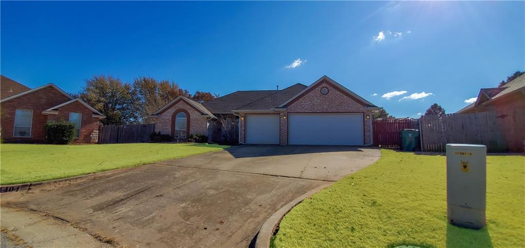 LOCATION,LOCATION, LOCATION!!! Home is in Edmond school district, close to shopping and turn pike. Home sits on a large lot in a cul-de-sac. You will love all the natural lighting when you walk into this 4 bedroom 2.5 bath house. Home features an amazing layout and tons of space. The Master suite holds a stand alone shower and a garden tub. The specious kitchen holds a pantry with ample countertop space.  It may be cold outside now but you will want pool come this summer. Pool has a brand new liner that was just put in and have never been used.