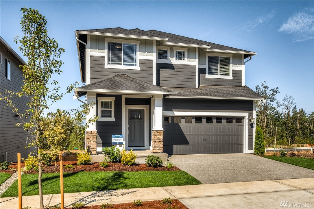 Welcome to Cedar Creek Park, a new home community brought to you by Lennar Seattle! This community will hold 82 New Homes in Covington, WA. Near our already selling community of Maple Hills. Cedar Creek Park will offer many of our most desired floorplans in close proximity to town full of restaurants, shopping, and activities to enjoy. It also includes a large neighborhood park, sidewalks and greenbelt open space. The Ballinger is the popular Hickory plan plus a basement!!