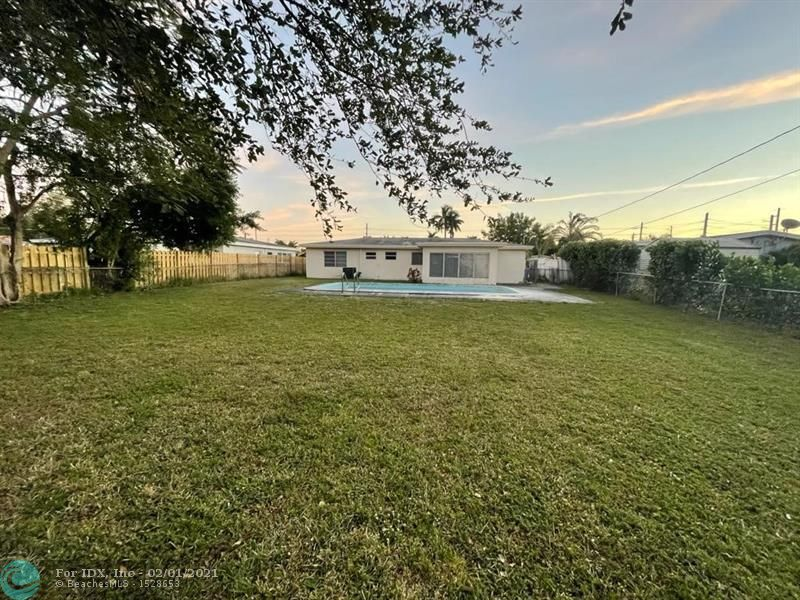 Beautiful 3 bedroom / 2 bathroom home with private pool in Oakland Park. Great square footage with lots of natural light. Home features carport and large circular driveway that can accommodate multiple cars. Fully tiled throughout. Home sits on a huge lot and has a private backyard with a large pool that is fully fenced.   **Tenant occupied**. Sellers own multiple properties in Broward County. Due to retiring, owners are offering this and other great single family homes for sale. Property is currently rented month to month.