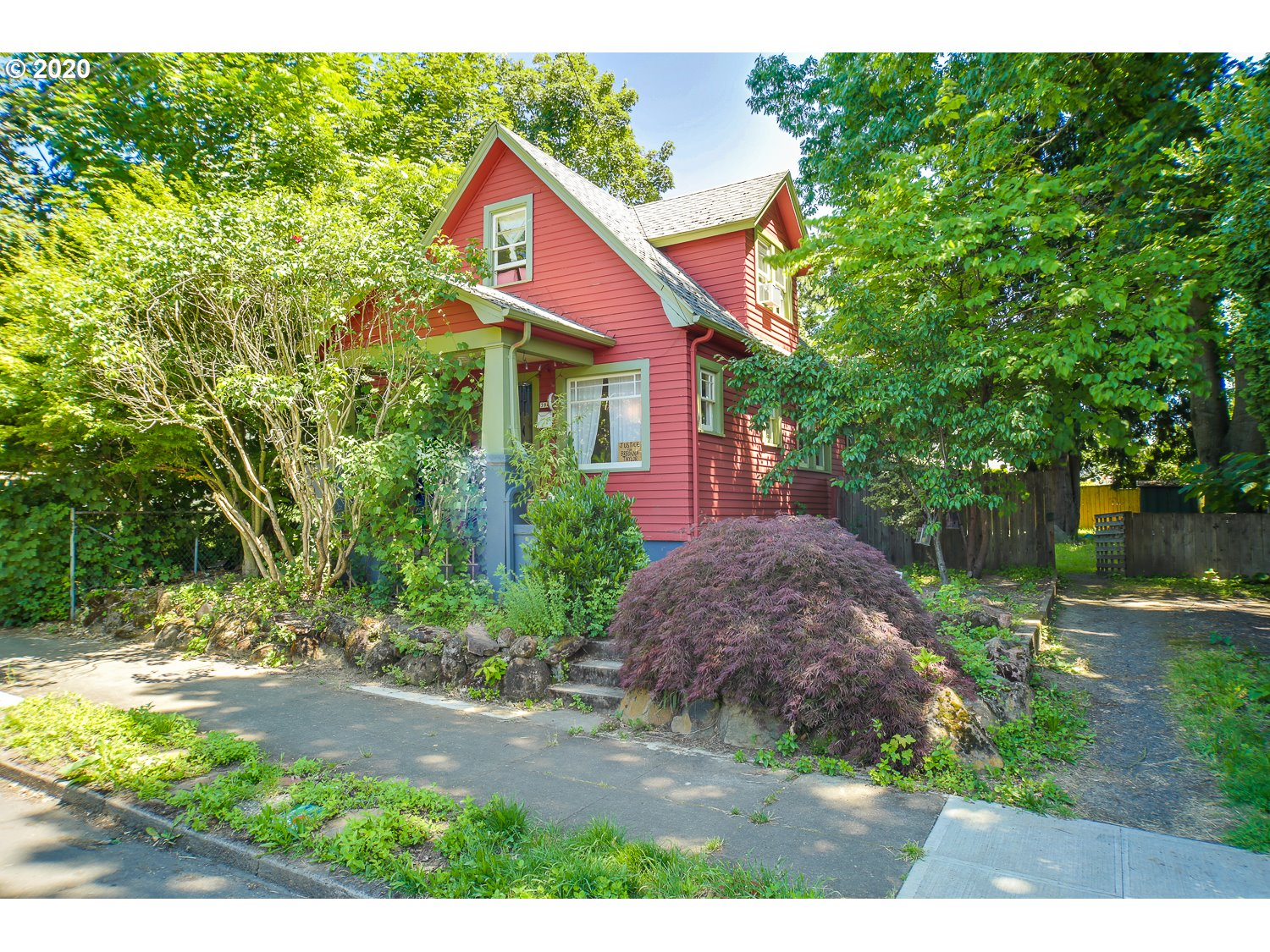 Charming Irvington area home! Classic 1900 architecture. Interior of home features hardwood floors, original built-ins, beamed ceilings. Finished attic includes 2 bedrooms. Unfished basement includes laundry room. Large backyard.