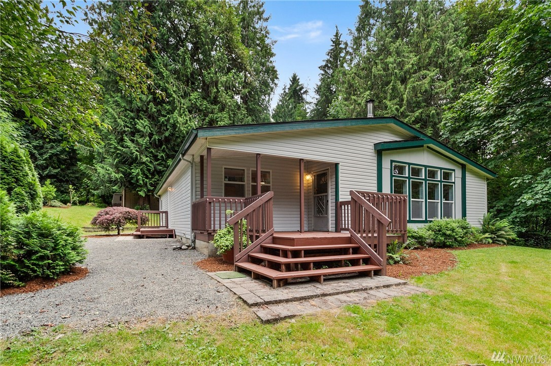 Looking for something truly special off the beating path while still being in a convenient & easy commute location? Look no further! Situated on over 5 acres of lush forest you will feel like you are a world away yet you are just 2 mi to DT Carnation & less than 30 min to all of the Eastside action. The possibilities are endless with a property like this and the lifestyle truly magical. The main home boasts 1,920 sf built in 1999, there is also a 2nd septic & home for MIL or rental potential.