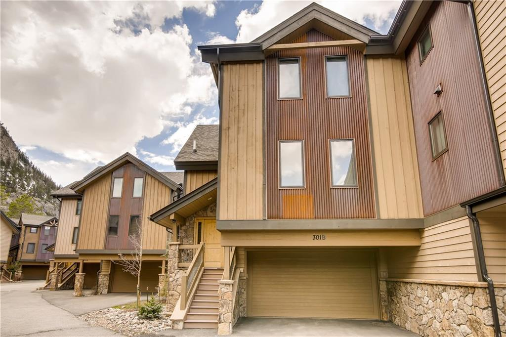 Exquisite townhome, only 2 blocks from Frisco Main Street. The owners purchased pre-construction and had the interior professionally designed and upgraded with fantastic finishes. If you are looking for the most beautifully finished property in Frisco, you have found it.  Two master suites, two car garage, electronic shade system, lots of storage, expansive views from the deck, chef's kitchen, etc. For the mountain enthusiast who loves the finer things. See the Matterport tour!
