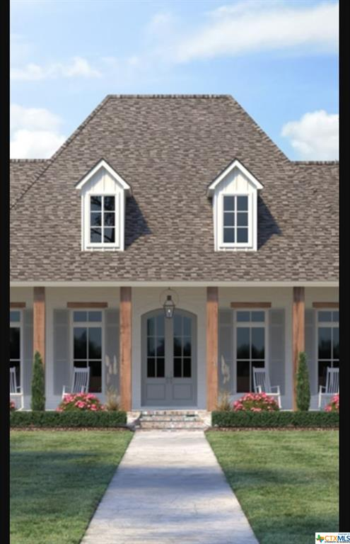 The Riesling is an amazing single story 4/3.5/3 plan with 3273 square feet.  From the minute you approach the expansive front porch, you know you are home.  The double door entry opens up to beautiful foyer and family room that has room for everyone.  The open concept kitchen will fit your family and guests to keep you company while you show off your chef-like skills.  If the cooking and the entertainment needs to be outside, well you have it.  An oversized backyard grilling patio with more entertainment area that you will ever need.