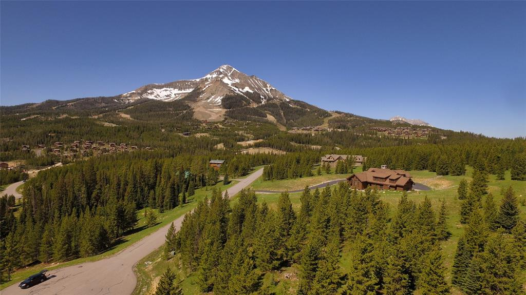 Southern Exposure Ski Out Lot  located in Big Sky Montana. Spectacular views of Lone Mountain.