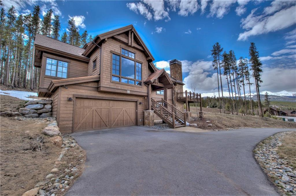 Here is it! Your luxury mountain contemporary home in Corkscrew Flats awaits you!  This 5 bedroom custom home sits on a fabulous large lot with views of the Peaks Range and Buffalo Mountain.  Upgrades include $40,000 home smart system, two steams showers, custom bunk room area, hot tub, remote control Hunter Douglas blinds, and more.  Please request Matterport walk thru video and additional photos from your agent. Walk to town from your backyard.