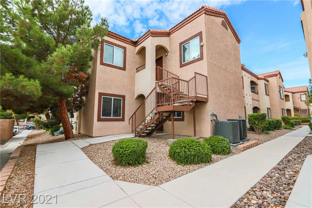 WOW! COME CHECK OUT THIS GORGEOUS GATED CONDO COMMUNITY JUST WEST OF SOUTH FORT APACHE BETWEEN TROPICANA & RUSSELL IN THE 89148 ZIP CODE! This Spacious lower level Condo, 2 bed, 2 bath, 2 COMMUNITY OASIS POOLs, w/ extra parking along with 1 primary parking space under carport, GATED HOME is nestled just minutes from the Summerlin Downtown. A MUST SEE & WILL NOT DISAPPOINT! BRAND-NEW HEAT PUMP-AIR-CONDITIONING-SYSTEM, INSTALLED IN MAY 2021! Easy access to Freeway, Shopping (SUMMERLIN MALL), Downtown Summerlin, Las Vegas Ballpark, City National Arena [practice facility and team headquarters of the Vegas Golden Knights of the National Hockey League], Golf & Historical Recreational parks! THIS HOME WILL NOT LAST LONG! BOOK YOUR SHOWING TODAY!