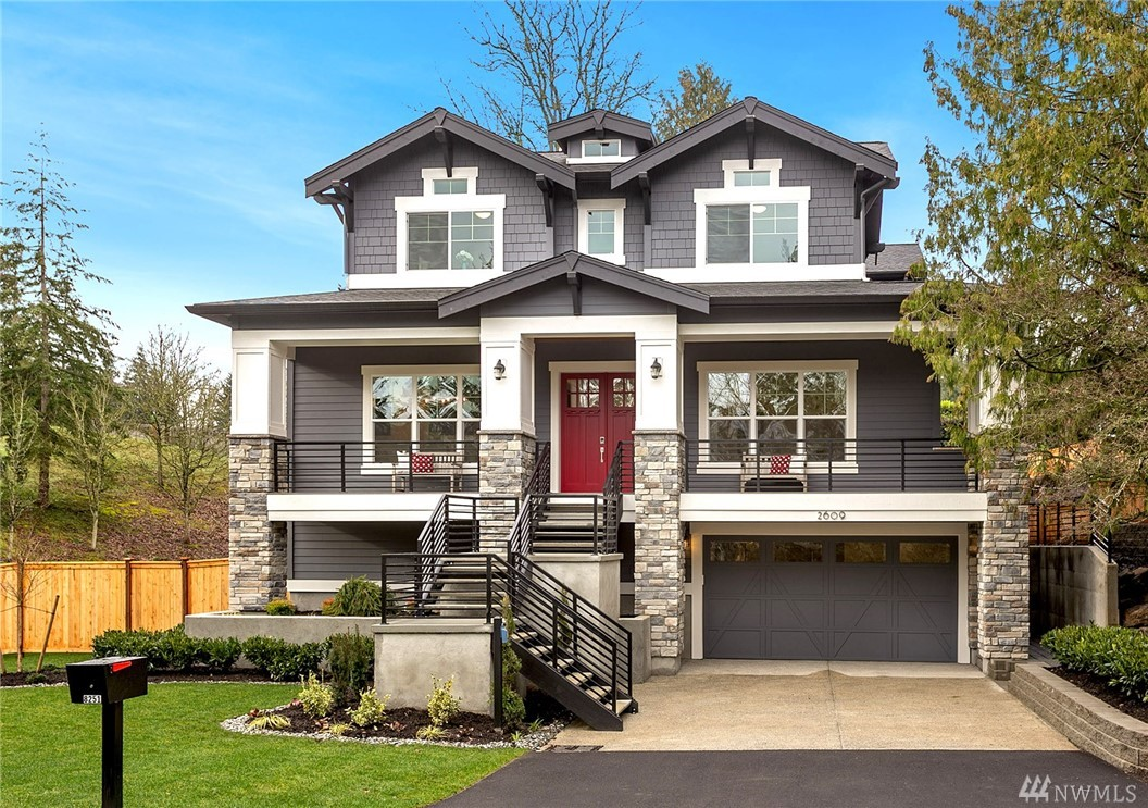 The Florence delivers comfort alongside classic charm in a craftsman esthetic. Kentwood Hardwoods, gourmet kitchen, mill wrapped windows, ample natural light, hand selected fixtures, and a media room perfect for new releases. Conveniently located across from Luther Burbank Park, The Florence is perfectly placed to enjoy peaceful walks and a beautiful skyline year-round. JayMarc Homes is Houzz Best in Customer Service four years in a row.