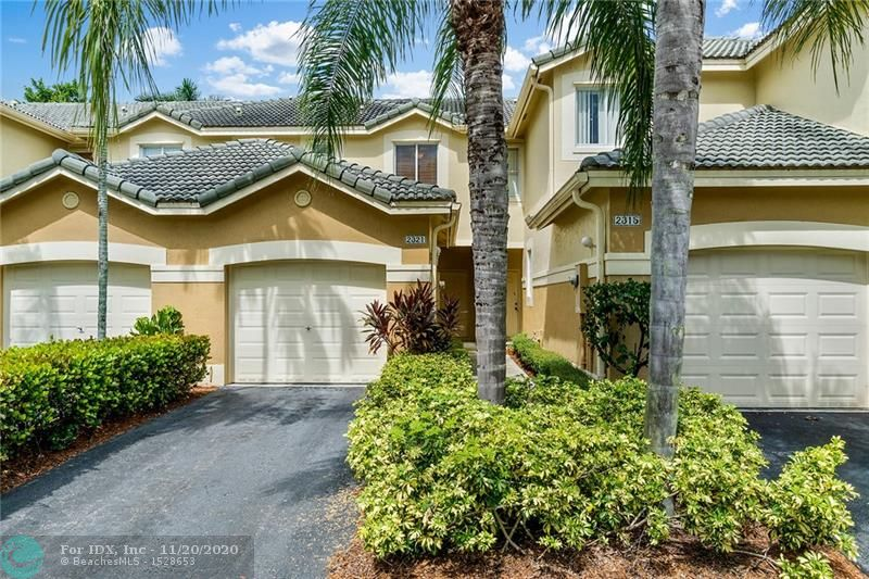Beautifully maintained 2 bed /2.5 bath townhouse in gated community of San Mateo in Weston. This bright and airy gem overlooks the lake and features a long driveway, plenty of guest parking, a screened patio, wood floors throughout, and close to community pool and A+ schools!