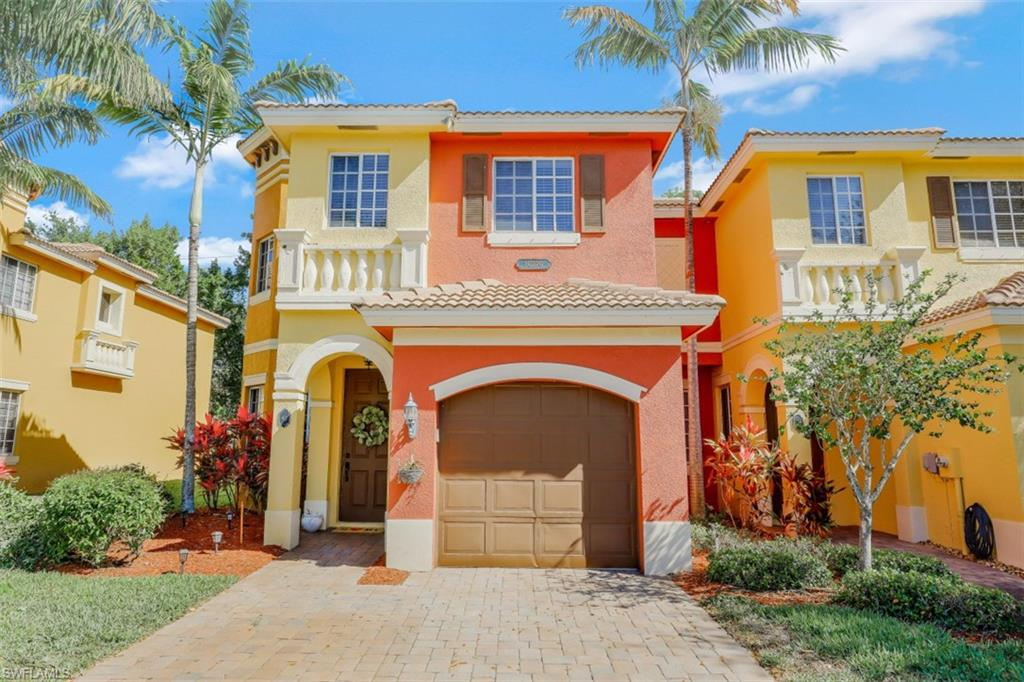 LOCATION LOCATION LOCATION! Beautiful move-in-ready townhouse in the gated community of Copper Oaks, Estero. This lovely and convenient property is close to great shopping and restaurants, SWFL airport, FGCU, Hertz Arena, I75, parks and more. If you are looking for a great and well-kept property with just over 2000 living square feet in this area, search no more! This property features 3 bedrooms PLUS a large den or office space (great for working from home) with 2.5 baths, 1 car garage, lanai, breakfast table area and this is an END UNIT with more outdoor space than other townhouses. Do not miss this great opportunity!