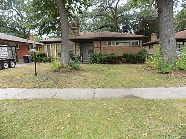 A lot of House for the Money. Your sweat equity and remodel flair gets you a large 3 bedroom Ranch with 2.5 baths and a full Basement. Hardwood floors throughout most of the entry level including the Living and Family room along with the Dining area and 2 of the Bedrooms. Gas Fireplace in Living Area. Partially finished basement adds an extra 1745 sq ft. Possession could be immediate. Ferndale Schools.