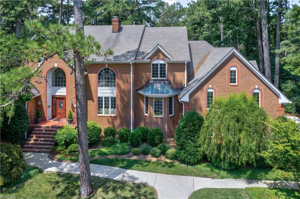Gorgeous All Brick Custom Home In Desired Riverview! Exceptional Wood Detail In Every Room-Perfect For Family & For Entertaining! Grand Foyer; Dream Office W/Privacy Doors; Living Room W/Gas Fireplace; Elegant Dining Room, Large Family Room W/Wood Fireplace & View Of Private Manicured Back Yard & In-Ground Pool. Magnificent Cook's Kitchen Includes Viking Stove, Working Island, Stainless Appliances, Cherry Cabinets, Granite Counters Galore & Breakfast Area. Huge 1St Floor Master Bedroom Suite W/Gas Fireplace Opens To Private Deck Area- Enjoy That Late Night Cocktail Or Swim! Oversized Master Bath Has 2 Sink Vanity, Makeup Area, Spa Shower & Separate Soaking Tub. Gleaming Hardwood Floors Compliment The Entire Downstairs; Sunroom Opens To Back Deck & Pool. Upstairs Provides Large Bedrooms & Baths; Unbelievable Entertainment Room W/Built-In Bookshelves! Plus It Has A Private Bedroom & Full Bath, In- Law Suite Or Guest Suite! Anderson Windows; 3-Car Garage. This Home Will Not Disappoint!