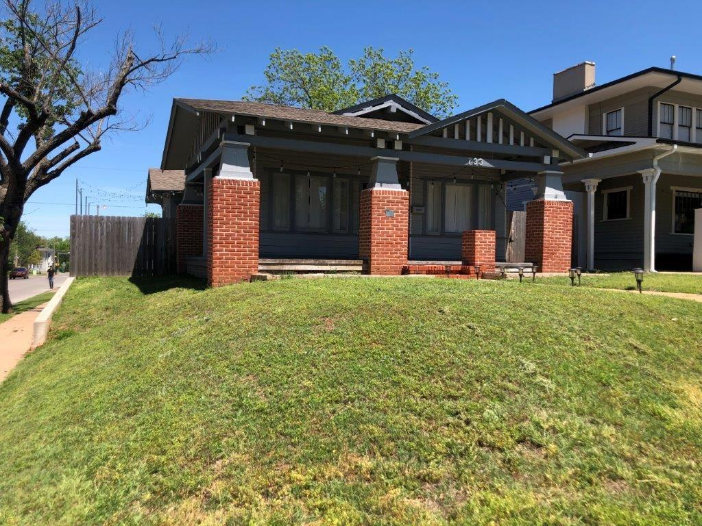 Don't miss this gorgeous bungalow nestled in Mesta Park's Historic District that's within walking distance to great restaurants, shopping and nightlife. Home has an office that could easily be converted into a third bedroom. The fireplace is non-functional. Master bathroom is a shower and toilet.