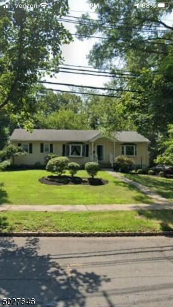 Incredible opportunity to own in very desirable Fanwood neighborhood- just a ten-minute walk to NJ Transit train & bus, schools, restaurants and shopping. Very well cared-for and loved 3 bed, 1.5 bath Ranch with plenty of property and partially finished basement to expand and grow with your needs. Or, a great floorplan for those in the dusk of their careers and desiring one-floor living. Open floor plan with newly refinished wood floors and freshly painted throughout. Outside the home is a great flat, square yard, incl. a storage shed for tools and toys. Also includes oversized detached garage ideal for a commercial vehicle, workshop, storage, etc. We look forward to seeing you soon.