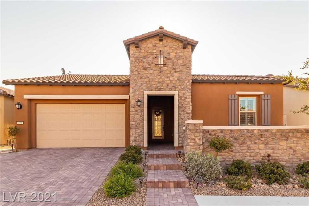 STUNNING UPGRADED PULTE SINGLE STORY IN BEAUTIFUL GATED SUMMERLIN COMMUNITY*BUILT IN 2018*OVER $100,000 IN UPGRADES!!!CONTEMPORARY OPEN FLOOR PLAN WITH DOUBLE SLIDING DOORS THAT BRING TOGETHER INDOOR/OUTDOOR LIVING* 4 BEDROOMS AND SEPARATE OFFICE/DEN WITH CUSTOM BUILT INS* HUGE CHEFS KITCHEN WITH GRANITE COUNTERS AND LARGE CENTER ISLAND*STAINLESS STEEL APPLIANCES*SEPARATED DINING ROOM**PLANTATION SHUTTERS*TILE FLOORING THROUGH OUT* LARGE COVERED PATIO*SPECTACULAR MANICURED BACKYARD*A MUST SEE!!!!!
