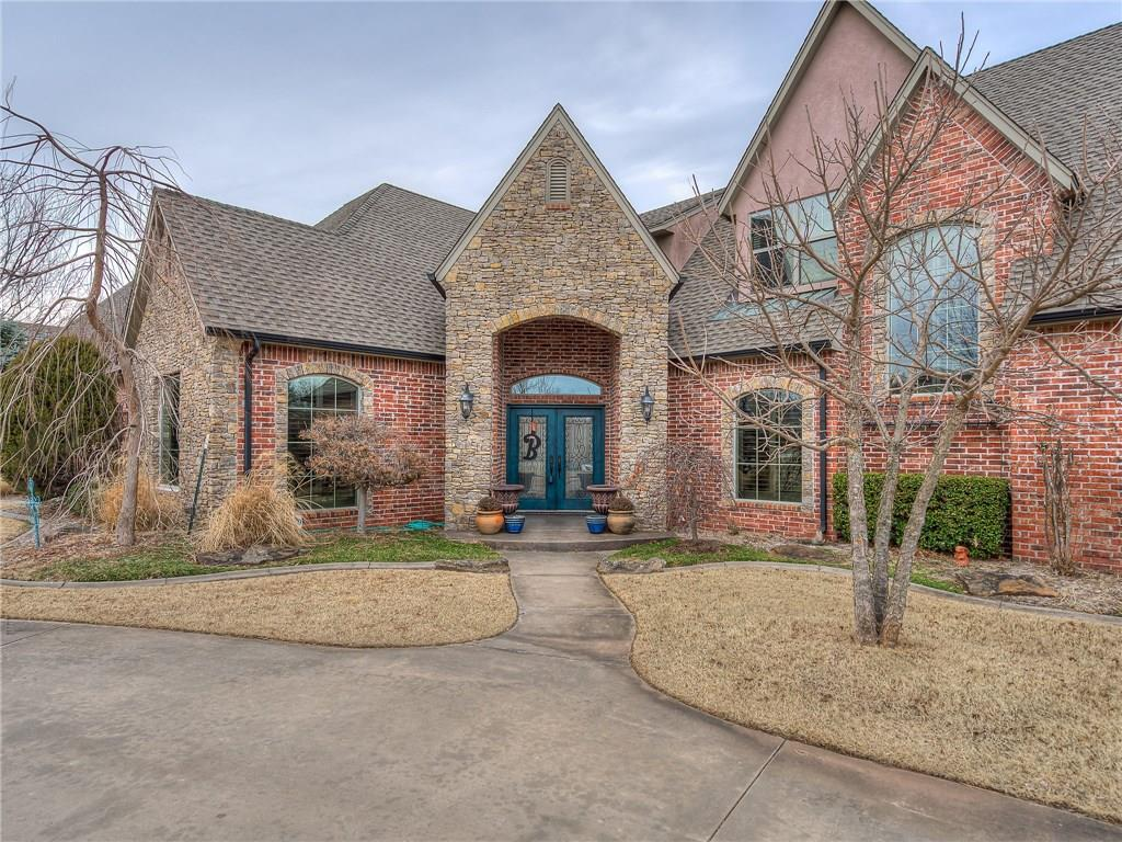 Stunning home in highly sought after Tuscany Ridge. 4 bedrooms, 3.5 bathrooms, study, bonus, 4,100+ sq. ft. on a 3/4+ acre lot, 4 car garage, and absolutely loaded. Other features include swimming pool, fire pit, gas fireplace, high-end wood work and fixtures, huge kitchen island with sink, pantry, soaker tub and walk-in shower, large master closet, great flow, high ceilings and tons more. Come see for yourself what words can't describe. Located close to Tinker, Boeing, Highway Access, Shopping, Dining, & more. Call today for a private showing.