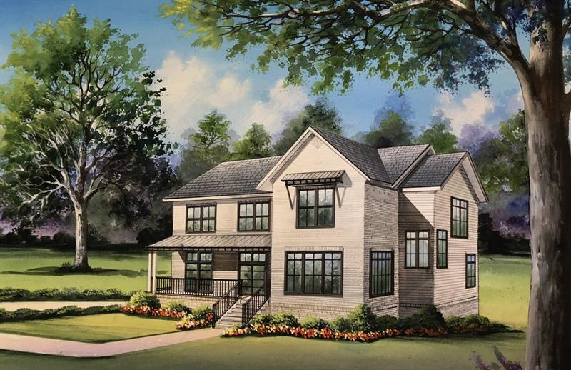 Another Morningside masterpiece curated by POP. Custom Homes! This lovely modern farmhouse boasts 6 spacious bedrooms, 5.5 luxurious baths, & an oversized walkout basement! Innovative design throughout. Chef's kitchen w/ Thermador appliances, custom cabinets, quartz counters & distinctive touches around every corner! Retreat to your master suite with skyline views and spa-like master bath! A matchless location...walk to the Beltline, VaHi/Morningside shops & restaurants, Piedmont Park, & more! Brilliant!