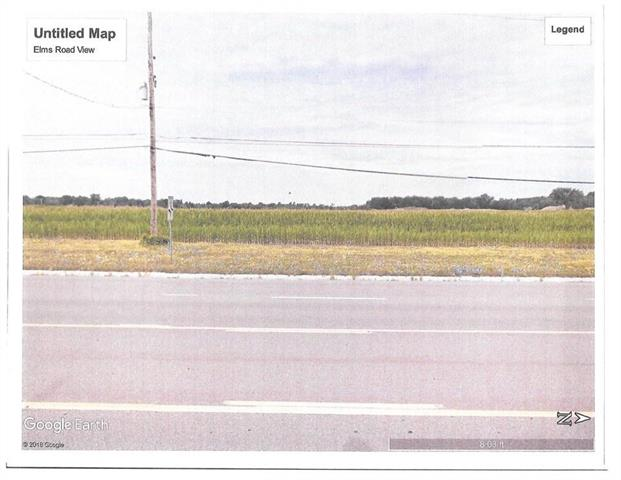 Potential Commercial Property.  Located near Flint Township and other Businesses plus I-75 and I 69 expressways.  Possible land contract terms.  Ideal for new or expanding business.  Possible additional land available.  Sewer and water available on Elms Road according to Genesee County water and Waste.