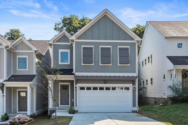 Brand New SPACIOUS Home in amazing pocket neighborhood in East Nashville. Easy commute to downtown, restaurants, shopping, parks! 2 car Garage w/ big driveway, Deck & fenced backyard, Bonus room, Fireplace, Lovely homes all around you. Great finishes, Open floor plan. Ready to go for the holidays!