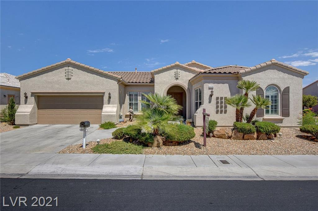WONDERFUL 'SIENA' GOLF COURSE PROPERTY, ELEVATED LOT W/ EXTRA SPACE ON THE SIDE FOR EVEN MORE PRIVACY & B/IN BBQ, '7130' MODEL W/ DEN/EXERCISE ROOM OFF PRIMARY/MASTER W/ SINK & REFRIGERATOR, APPROX 2839/SF, 2 BED, 3 BATH, EXTENDED GREAT RM W/ FIREPLACE & BUILT/INS, KITCHEN W/ CHERRY CABINETRY, GRANITE, STAINLESS APPLIANCES, WINE REFRIGERATOR, WALK-IN PANTRY, LIVING RM W/ ADDITIONAL EXTERIOR VIEWS, LAUNDRY RM W/ WASHER & DRYER, CABINETRY & SINK, PORCELAIN TILE, CARPET IN BEDRMS, SHUTTERS, ALARM, WATER FILTRATION SYSTEM, COVERED PATIO, TRELLIS, 2 CAR GARAGE W/ STORAGE, PLUS MUCH MORE!
