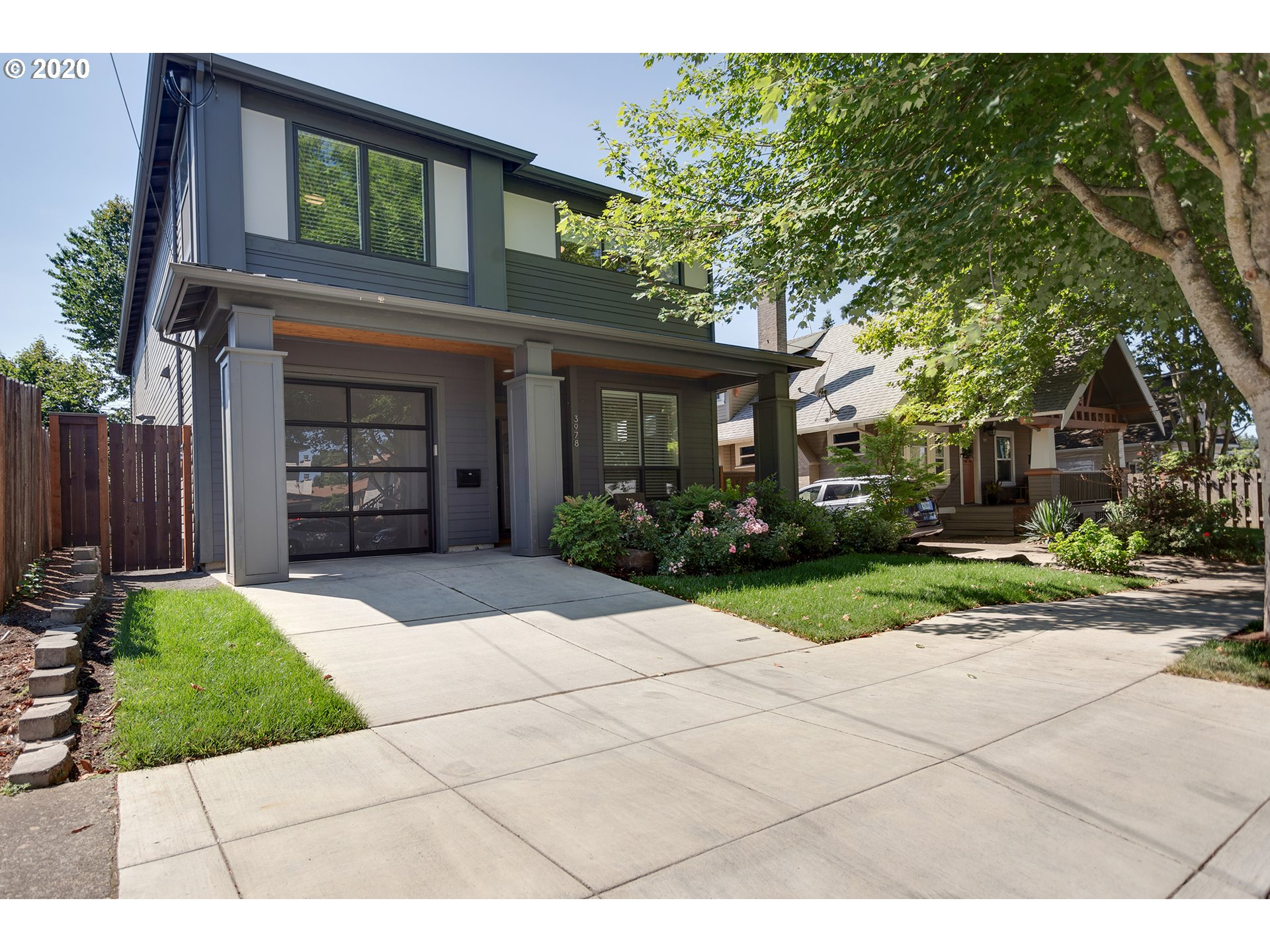 Great location for this gorgeous like new Renaissance Home.  4bed/2.5 bath, loft and office with closet, 2625SF.  Enjoy year round outdoor living under your covered patio with lighting and BBQ gas hookup.  Engineered hardwoods, kitchen with slab quartz and large island/eating bar.  Bike score 89, walk score of 77. A/C.  No open house.  Exclude yard statues [Home Energy Score = 7. HES Report at https://rpt.greenbuildingregistry.com/hes/OR10186310]