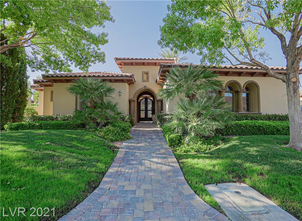 SPECTACULAR 4 BED, 4 BATH HOME WITH PANORAMIC VIEWS IN LAKE LAS VEGAS! GUARD GATED COMMUNITY. AMAZING LAKE, MOUNTAIN AND CITY VIEWS! PERFECT FRONT COURTYARD W/ FIREPLACE AS YOU ENTER. PERFECT FAMILY ROOM WITH LOTS OF SPACE, FULL SLIDING DOOR WALL AND LAKE VIEWS. BEAUTIFUL KITCHEN WITH DOUBLE OVENS, SPACIOUS PANTRY, AND BREAKFAST BAR! PRIMARY SUITE FEATURES A GAS FIREPLACE, HUGE WINDOW WITH GREAT LAKE VIEWS, ACCESS TO BACKYARD, SPACIOUS WALK-IN CLOSET, PRIVATE BATHROOM WITH DOUBLE SINKS, TUB WITH JETS, AND SEPARATE SHOWER. HOME INCLUDES A THEATER ROOM W/ BAR. THIS PROPERTY FEATURES A TANKLESS WATER HEATER. PERFECT BACKYARD W/ SPARKLING POOL FOR ENTERTAINING! LAKE LAS VEGAS COMMUNITY FEATURES MANY RESORT-LIKE AMENITIES SUCH AS LUXURY HOTELS, AWARD-WINNING RESTAURANTS, A FULL GOLF COURSE, WATER ACTIVITIES, BASKETBALL COURTS, TENNIS COURTS, AND MUCH MORE. THIS HOME IS A MUST SEE!