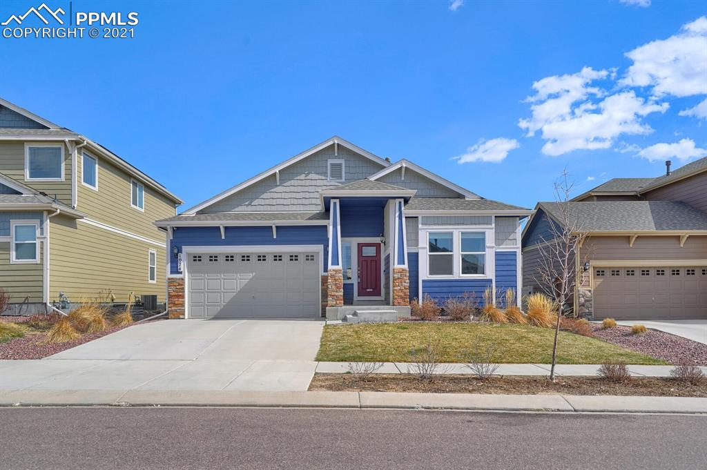 Welcome to Spring Creek, in Colorado Springs.  Located just a few minutes from Fort Carson and Peterson Air Force Base. Plus a few miles away from downtown Colorado Springs. Extremely close to Hwy 24 and I-25. This home is beautiful and has some amazing features! You can feel the warmth that this home gives as you walk into the front door. With an open floor plan, high vaulted ceilings, and spacious rooms this ranch style house will make you feel at home. Five beds, three baths, large basement space, with optional movie room, and a backyard patio allows this home to be a perfect spot for entertaining. Newly painted with comfortable carpet and wood flooring throughout. Located close to many shops, restaurants, and all that Colorado Springs has to offer, this home won't last long! Come check it out!