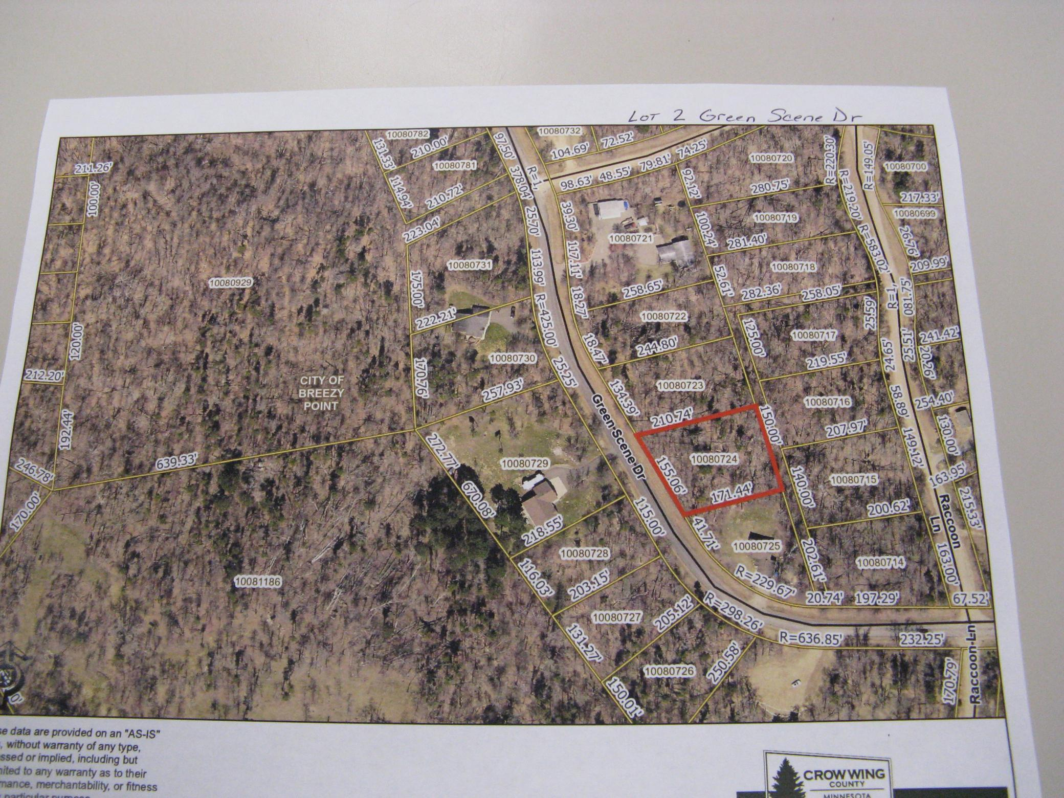 Great lot in Breezy Point to build your dream home. Close to Breezy Point Resort, restaurants, clinic, golf, schools.