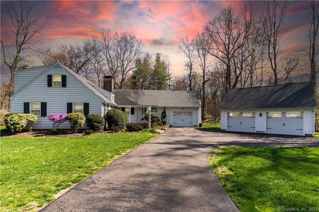 Charming Expanded Cape In Most Desirable Greenfield Hill Location! First time to the market since 2007! This private, cozy home has close to an acre of property with the ultimate amount of privacy. The location is about 5 minutes to Greenfield Hill Center or 10 Minutes to Down Town Fairfield & Southport Center. This location is about a mile to the Merritt Parkway for close access to New York City. This is the perfect starter home to raise your family in the Fairfield Public School Systems. Both Full Bathrooms were Fully Renovated. Turn this perfect location home into your forever home! Agent Related -Cat Sitter Barbara In and Out Is Harmless Has White Jeep - If You See Her Just Greet and Proceed to Your Showing - No Upstairs Attic Entry Until Offer Accepted - Access Is on Side of Garage - Door Is Locked - Keep it Locked - Do Not Enter - Septic Is In The Back - Pool Could Be Put on Side / Back Yard- Please Do Your Own Due Diligence On This If Interested. 2 Full Bathrooms Fully Renovated / Gutted With Kohler and Moen 45k In Upgrades Done in 2019, Spent 15k on Tree Removal over 20 Trees, New Oil Tank for 3k Just Installed in Garage, Irrigation & Fertilizing Done on Entire Yard for 10k, New Back Deck for 3k, Done in 2016, New Septic Tank 2018 for 5k, Has Heated Kitchen Floors with two workable Fire Places, Also has main level closet that can fit stackable washer and dryer. 3 Brand New Garage Doors in 2019 for 4k in Cost.  Do Not Let Cat Out!!