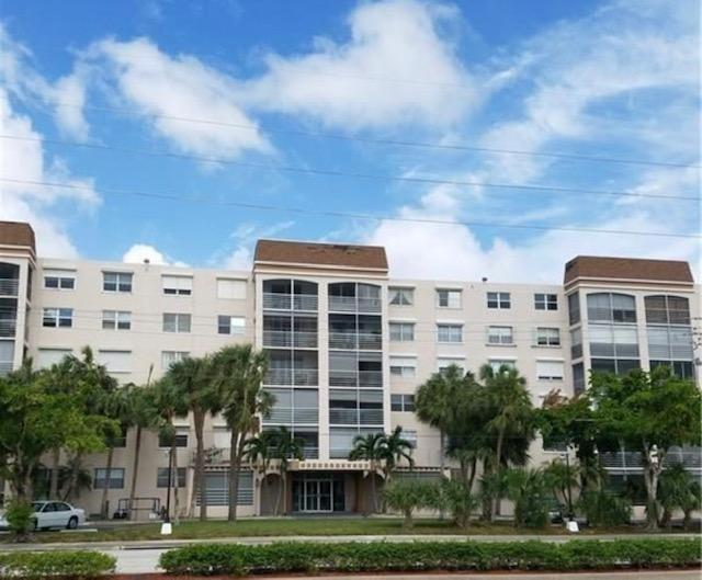 Move-in ready!  2 bed/2 bath 1,250 sq ft. condo.   New A/C, paint, balcony tiles and 2017 appliances, bathroom and water heater.  Large master bedroom and large walk-in closets.  Great location! East of Federal highway, I-95, Turnpike, One minute to the beach, near FLL International Airport, Port Everglades, new Sheridan Plaza shopping mall, and walking distance to The Casino at Dania Beach.  Some of the amenities include large pool, gym, billiard room, clubhouse, sauna, card room, lounge and barbecue area.Dr Von D. Mizell Eula Johnson State Park is close by.