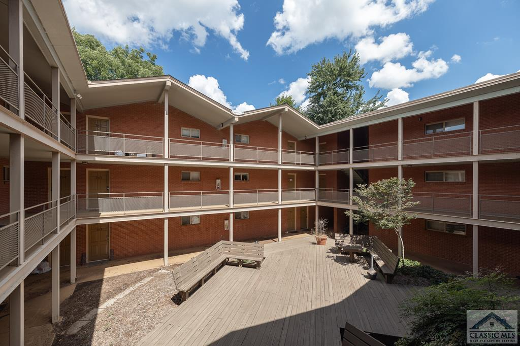 Excellent location and affordable price for proximity to The University of Georgia and Sanford Stadium! This condo is located in Stadium Village, a gated game day community as well as popular undergraduate / graduate student rental community. Unit C-202 features BRAND NEW LVP flooring throughout as well a fresh interior paint. Updated kitchen has newer cabinets, ceramic tile floors, and appliance package. Totaling 2BR, 1BA, and 795 sqft, this is a great opportunity for rental investment or a game day getaway! Enjoy the pool complete with club house that is available for private rental for events. There is a laundry facility and fitness center as well! Close access to Loop 10, Downtown Athens dining and shopping, plus UGA and Sanford Stadium. Available for occupancy as soon as Buyer closes!