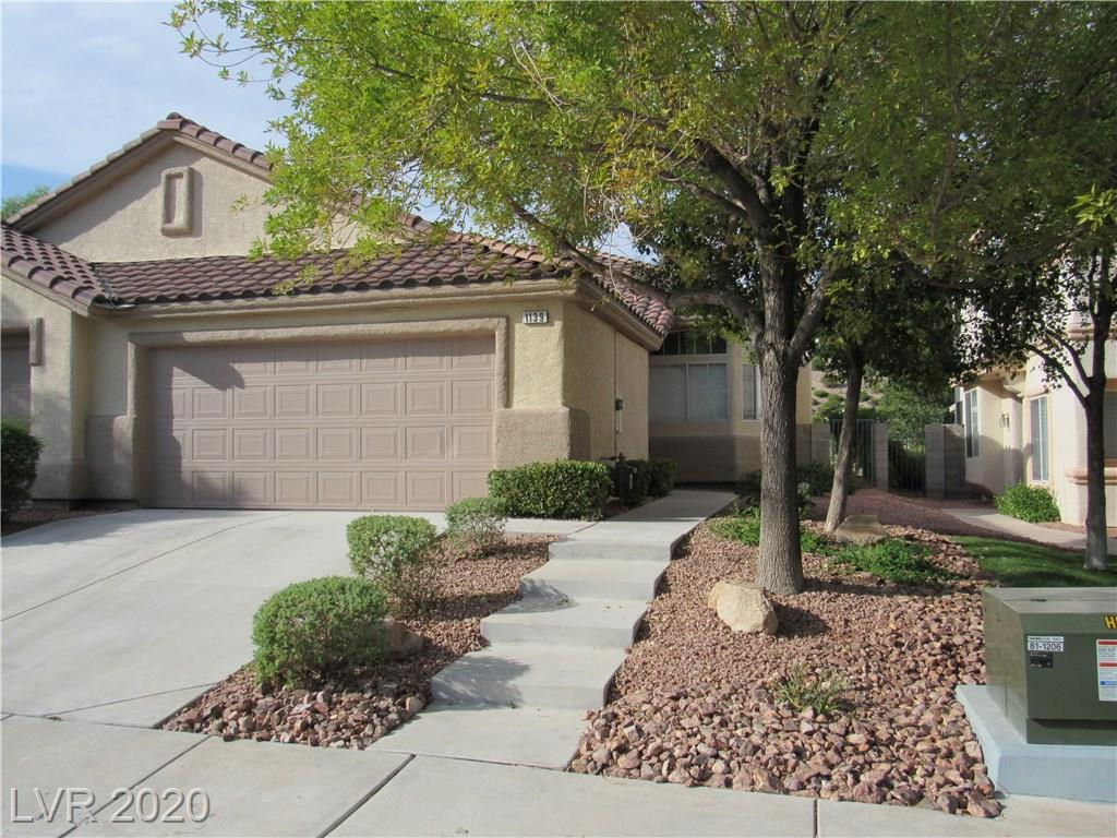 Seven Hills gated 1 story with 2 car garage and rear yard overlooking the arroyo  and walking trails. Remodeled with quartz counter tops stainless steel appliances and tile floors.