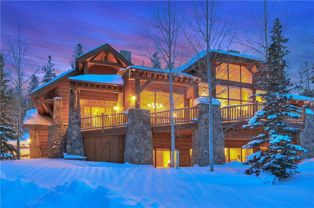 This amazing quintessential Colorado home boosts a large entertaining floor plan and HUGE Mountain Views! Enjoy your privacy on over 2 acres that backs to the Breckenridge golf course. The perfect mountain getaway for family memories for years to come. An ideal setting on the golf course yet moments to town and skiing. A true chef's kitchen will sure to impress. Extensive decks and outdoor entertaining will allow true indoor/outdoor living. This home has everything your looking for and more!