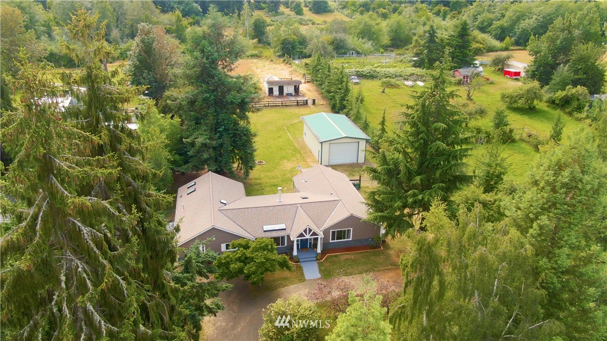Welcome To This Gorgeous 2 Acre Home Located On Vashon Island. This Modern Remodel Kept Tons Of Original Charm All Within A 1 Story Home. Property Includes 2,700+ Interior SQ FT Spaciously Laid Out, 4 Bedrooms, 2 Bathrooms, Hobby Horse Farm w/ Ideal Location Near Town & Schools. Lot Includes 2-Stall Horse Barn, Heated Tack Shed w/ Loft, 24x42 Web Steel Garage/Building On Concrete Slab. Other Extras Are Cross-Fenced & Gated Back Yard, Near Riding Trails, New Roof, Updated Electrical, Equestrian.