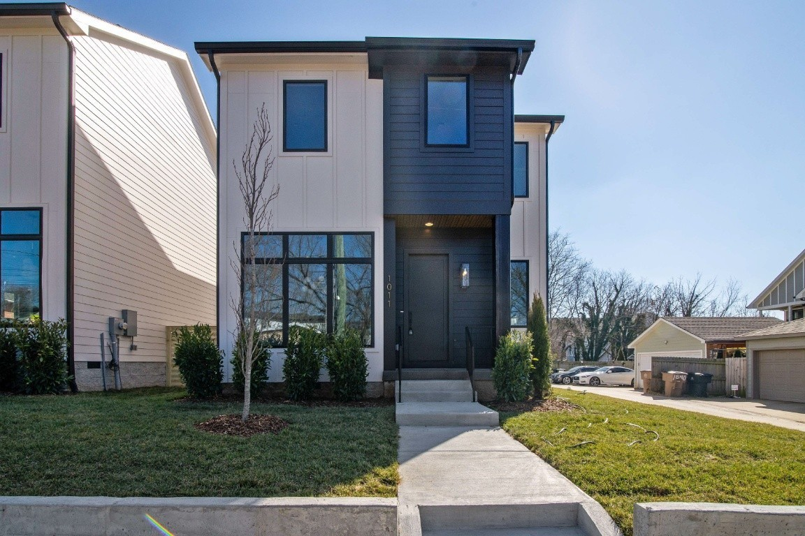 Stunning new construction with designer finishes in the city and a skyline view! Close to downtown, work, retail, shopping. Open living floor plan, 2 car garage, all hardwood flooring, beautiful tile and master suite upstairs is gorgeous! Perfect place to entertain.