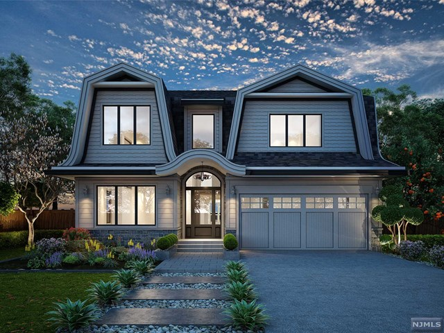 Tenafly gorgeous new construction COMPLETION 04/2020! featuring approx. 5700 sf (with finished basement).  Central hall colonial with 6 bedrooms and 6 bathrooms situated on a beautiful lot.  High ceilings, high end finishes all around The first floor consists of 2 story entrance foyer open to formal living room & formal dining room leading to huge modern eat-in kitchen with top appliances, pantry room, butler pantry, over-sized island open to spacious great room overlooking private backyard, full bath and bedroom/office on the first floor.  A large mudroom connected to a 2 car garage.  The 2nd floor features a master bedroom suite with his/hers walk-in closets, three bedroom suites,, a laundry room and linen closet.  The lower level has a bedroom, a recreation room, a full bathroom, and a media room.   THE POOL RENDERING IS FOR ILLUSTRATION ONLY. POOL IS NOT INCLUDED IN PRICE