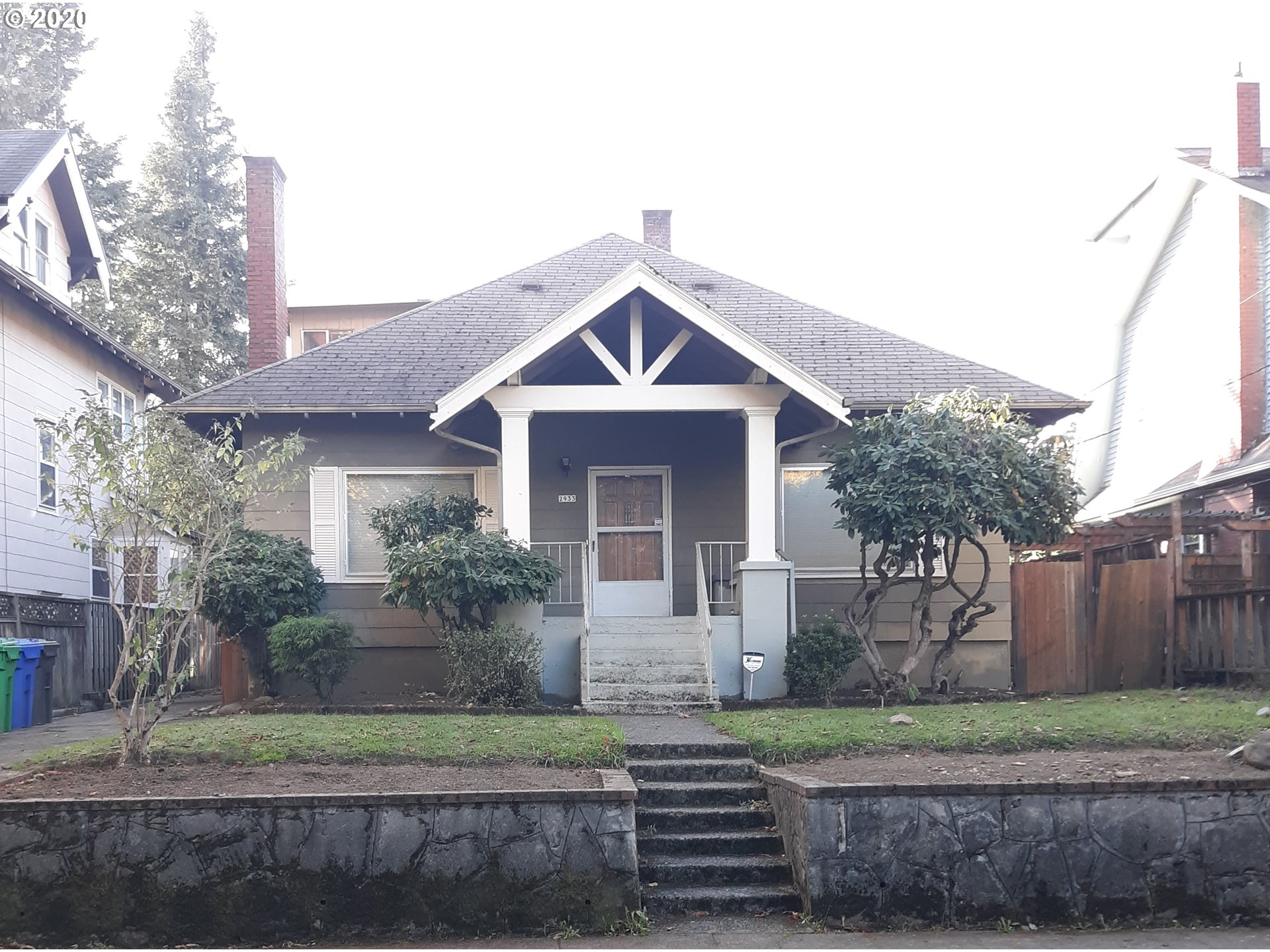 Charming three bedroom bungalow with basement nestled in Irvington available and ready to become your dream home. [Home Energy Score = 1. HES Report at https://rpt.greenbuildingregistry.com/hes/OR10187775]
